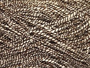 Fiber Content 66% Cotton, 5% Polyamide, 29% Viscose, Brand ICE, Cream, Brown, fnt2-62804