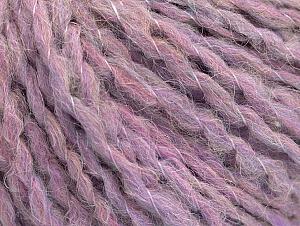 Fiber Content 50% Wool, 30% Acrylic, 20% Polyamide, Pink, Lilac, Brand ICE, fnt2-62840