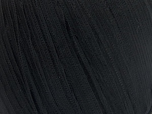 Fiber Content 62% Acrylic, 38% Polyamide, Brand ICE, Black, Yarn Thickness 4 Medium  Worsted, Afghan, Aran, fnt2-62934