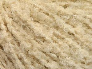 Fiber Content 40% Wool, 40% Acrylic, 20% Polyamide, Brand ICE, Dark Cream, fnt2-62945