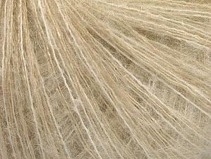 Fiber Content 40% Polyamide, 30% Kid Mohair, 30% Wool, White, Brand ICE, Cream, fnt2-62952