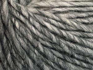 Fiber Content 50% Wool, 50% Acrylic, Brand ICE, Grey Shades, fnt2-62989