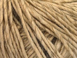 Fiber Content 50% Wool, 50% Acrylic, Brand ICE, Cream melange, fnt2-62990