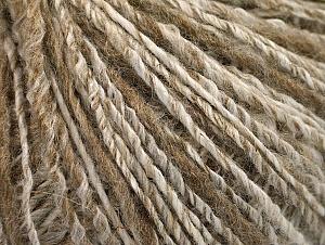 Fiber Content 62% Acrylic, 4% Linen, 18% Wool, 16% Viscose, Brand ICE, Cream, Camel, Beige, fnt2-63168