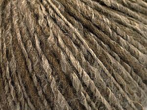 Fiber Content 62% Acrylic, 4% Linen, 18% Wool, 16% Viscose, Brand ICE, Camel, Brown, fnt2-63169
