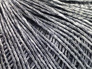 Fiber Content 80% Viscose, 20% Acrylic, Silver, Brand ICE, Black, fnt2-63180