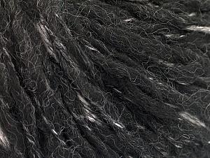 Fiber Content 50% Wool, 50% Acrylic, Brand ICE, Black, fnt2-63182