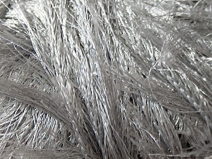 Fiber Content 100% Polyester, Brand Ice Yarns, Grey, Yarn Thickness 6 SuperBulky  Bulky, Roving, fnt2-13021