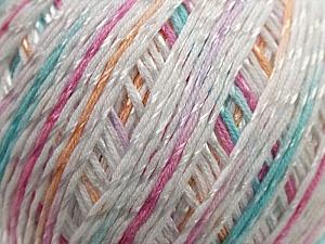 Fiber Content 70% Mercerised Cotton, 30% Viscose, White, Pink, Lilac, Brand KUKA, Grey, Yarn Thickness 2 Fine  Sport, Baby, fnt2-16815