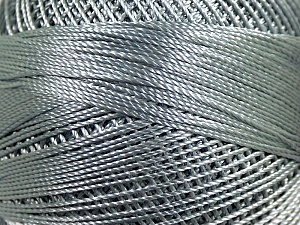 Fiber Content 100% Micro Fiber, Brand YarnArt, Grey, Yarn Thickness 0 Lace  Fingering Crochet Thread, fnt2-17311