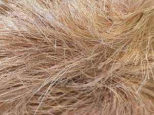 Fiber Content 100% Polyester, Brand KUKA, Camel, Yarn Thickness 5 Bulky  Chunky, Craft, Rug, fnt2-20783