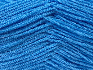 Fiber Content 100% Acrylic, Brand ICE, Blue, Yarn Thickness 3 Light  DK, Light, Worsted, fnt2-22412