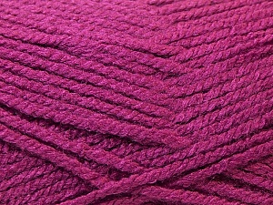 Fiber Content 100% Acrylic, Brand ICE, Dark Orchid, Yarn Thickness 3 Light  DK, Light, Worsted, fnt2-22418