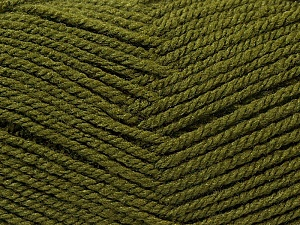 Fiber Content 100% Acrylic, Brand ICE, Dark Green, Yarn Thickness 3 Light  DK, Light, Worsted, fnt2-22423
