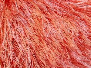 Fiber Content 100% Polyester, Light Salmon, Brand ICE, Yarn Thickness 5 Bulky  Chunky, Craft, Rug, fnt2-22759