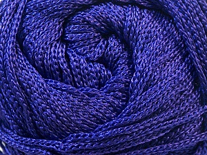 Width is 3 mm Fiber Content 100% Polyester, Purple, Yarn Thickness Other, Brand ICE, fnt2-22903
