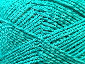 Fiber Content 100% Mercerised Cotton, Sea Green, Brand ICE, Yarn Thickness 2 Fine  Sport, Baby, fnt2-23332