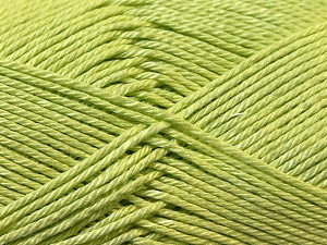 Fiber Content 100% Mercerised Cotton, Light Green, Brand ICE, Yarn Thickness 2 Fine  Sport, Baby, fnt2-23334