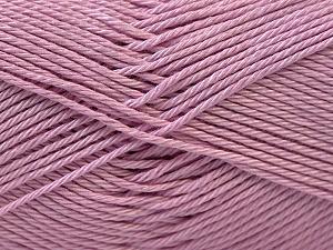 Fiber Content 100% Mercerised Cotton, Lilac, Brand ICE, Yarn Thickness 2 Fine  Sport, Baby, fnt2-23787