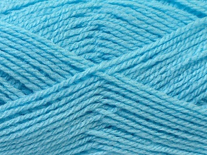 Fiber Content 100% Baby Acrylic, Brand ICE, Blue, Yarn Thickness 2 Fine  Sport, Baby, fnt2-24524