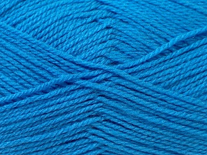Fiber Content 100% Baby Acrylic, Brand ICE, Blue, Yarn Thickness 2 Fine  Sport, Baby, fnt2-24532