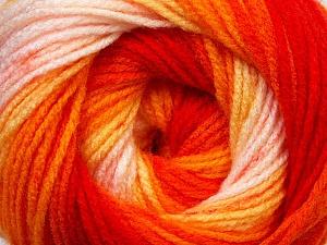 Fiber Content 100% Baby Acrylic, Yellow, Orange Shades, Light Pink, Brand Ice Yarns, Yarn Thickness 2 Fine  Sport, Baby, fnt2-29608