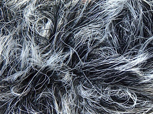 Fiber Content 100% Polyamide, White, Brand ICE, Black, Yarn Thickness 5 Bulky  Chunky, Craft, Rug, fnt2-30834