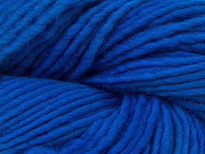 In this yarn a 100% Wool yarn is used. Dyeing process is totally hand made with natural plants and NO chemicals were used. For this reason, please be advised that some white parts may remain. Fiber Content 100% Wool, Brand ICE, Blue, Yarn Thickness 5 Bulky  Chunky, Craft, Rug, fnt2-32035
