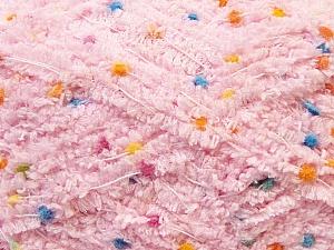 Fiber Content 85% Micro Fiber, 15% Polyamide, Light Pink, Brand ICE, Yarn Thickness 5 Bulky  Chunky, Craft, Rug, fnt2-32484