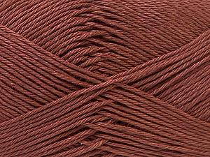 Fiber Content 100% Mercerised Cotton, Brand ICE, Brown, Yarn Thickness 2 Fine  Sport, Baby, fnt2-32538