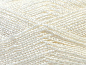 Fiber Content 100% Antibacterial Dralon, Off White, Brand ICE, Yarn Thickness 2 Fine  Sport, Baby, fnt2-32829