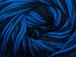 Fiber Content 100% Wool, Navy, Brand Ice Yarns, Blue Shades, Yarn Thickness 3 Light  DK, Light, Worsted, fnt2-34727