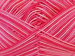 Ne: 8/4. Nm 14/4 Fiber Content 100% Mercerised Cotton, Pink Shades, Brand Ice Yarns, Yarn Thickness 2 Fine  Sport, Baby, fnt2-34761