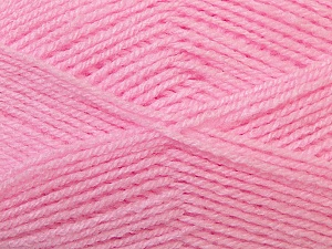 Fiber Content 100% Baby Acrylic, Brand Ice Yarns, Baby Pink, Yarn Thickness 2 Fine  Sport, Baby, fnt2-34943