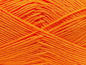 Fiber Content 100% Antibacterial Dralon, Orange, Brand ICE, Yarn Thickness 2 Fine  Sport, Baby, fnt2-35242