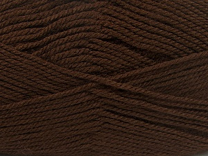 Fiber Content 100% Acrylic, Brand ICE, Brown, Yarn Thickness 2 Fine  Sport, Baby, fnt2-39922