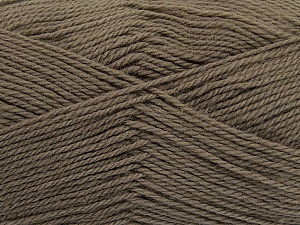 Fiber Content 100% Virgin Wool, Brand ICE, Camel, Yarn Thickness 3 Light  DK, Light, Worsted, fnt2-42307