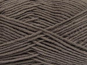 Fiber Content 50% Wool, 50% Acrylic, Mink, Brand ICE, Yarn Thickness 4 Medium  Worsted, Afghan, Aran, fnt2-42530