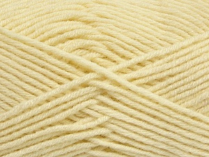Fiber Content 50% Wool, 50% Acrylic, Brand ICE, Dark Cream, Yarn Thickness 4 Medium  Worsted, Afghan, Aran, fnt2-42534