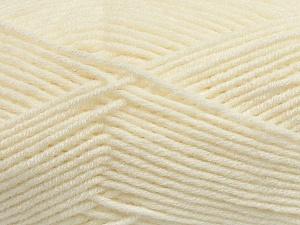Fiber Content 50% Wool, 50% Acrylic, Light Cream, Brand ICE, Yarn Thickness 4 Medium  Worsted, Afghan, Aran, fnt2-42536