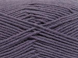 Fiber Content 50% Wool, 50% Acrylic, Light Maroon, Brand ICE, Yarn Thickness 4 Medium  Worsted, Afghan, Aran, fnt2-42544