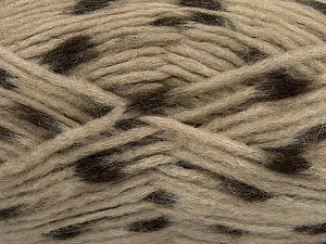 Make a knot on the spots part of the yarn while knitting to give a pompom look. Fiber Content 82% Acrylic, 18% Polyamide, Brand ICE, Camel, Brown, Yarn Thickness 5 Bulky  Chunky, Craft, Rug, fnt2-42688