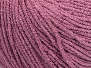 Fiber Content 50% Acrylic, 50% Cotton, Orchid, Brand ICE, Yarn Thickness 3 Light  DK, Light, Worsted, fnt2-43071