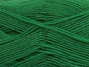 Machine washable. Lay flat to dry Fiber Content 60% Superwash Virgin Wool, 40% Acrylic, Brand ICE, Green, Yarn Thickness 2 Fine  Sport, Baby, fnt2-43798
