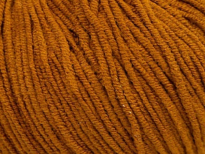 Fiber Content 50% Acrylic, 50% Cotton, Brand ICE, Dark Gold, Yarn Thickness 3 Light  DK, Light, Worsted, fnt2-44118