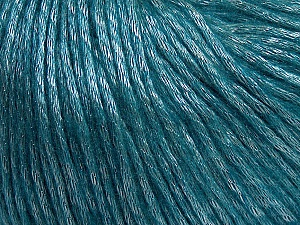 Fiber Content 50% Polyamide, 50% Acrylic, Teal, Brand ICE, Yarn Thickness 4 Medium  Worsted, Afghan, Aran, fnt2-44719