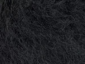 Fiber Content 100% Polyamide, Brand ICE, Black, Yarn Thickness 4 Medium  Worsted, Afghan, Aran, fnt2-45250