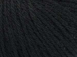 Fiber Content 40% Merino Wool, 40% Acrylic, 20% Polyamide, Brand ICE, Black, Yarn Thickness 3 Light  DK, Light, Worsted, fnt2-45803