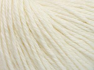 Fiber Content 40% Merino Wool, 40% Acrylic, 20% Polyamide, White, Brand ICE, Yarn Thickness 3 Light  DK, Light, Worsted, fnt2-45806