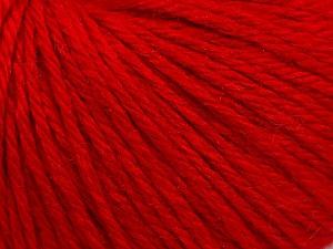Fiber Content 40% Merino Wool, 40% Acrylic, 20% Polyamide, Red, Brand ICE, Yarn Thickness 3 Light  DK, Light, Worsted, fnt2-45810